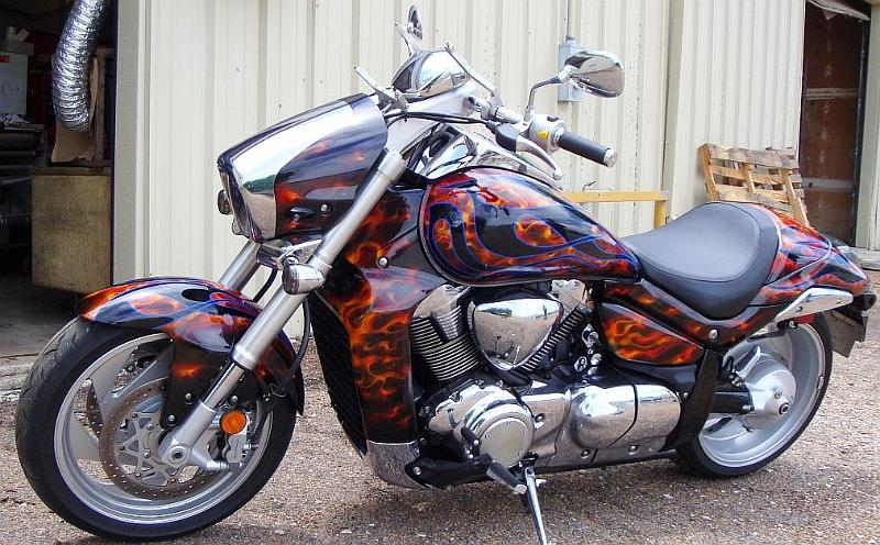 Motorcycle Paint Job